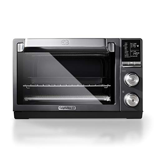 Calphalon Quartz Heat Countertop Toaster Oven, Dark Stainless Steel