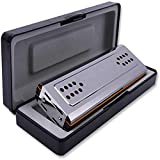 Best Harmonicas - ZZLQIAN C&G Chord Harmonica, 24-Hole Double-Sided Harmonica, Adult Review