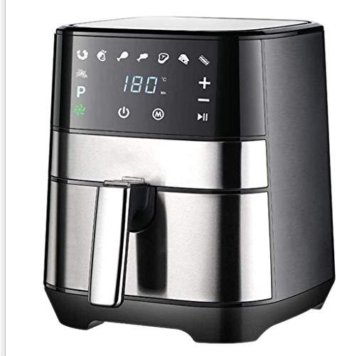 LY88 Keukenluchtfriteuse 3,5 liter 1500 W, met snel luchtcirculatiesysteem minuten-timer en instelbare temperatuurregeling, mini-oven digitale luchtfriteuse + rotisserie