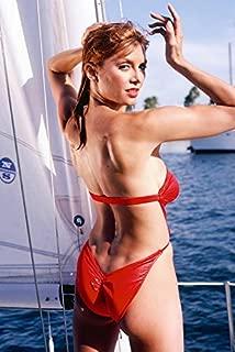 Victoria Principal Sexy Revealing Color Graph 24x18 Poster