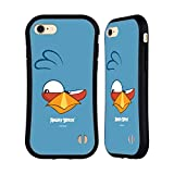 Head Hülle Designs Offiziell Offizielle Angry Birds Blues Volles Gesicht Hybride Handyhülle Hülle Huelle kompatibel mit Apple iPhone 7 / iPhone 8 / iPhone SE 2020