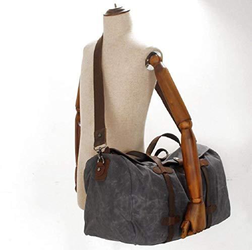 41jHt5veM1L - BEIBAO Mochila al aire libre conveniente para los hombres y las mujeres utilizan el bolso del bolso del recorrido de la lona de la capacidad grande 36-55L, yendo de excursión el bolso corto del viaje de