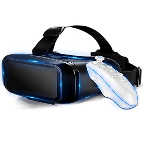 HBOY Gafas VR Soporte De Realidad Virtual 3D Original 0-600 Miopía Gafas 3D Binoculares Auriculares VR para Teléfono Inteligente De 4-7 Pulgadas