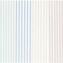 "Amscan 469692 Tableware Straws, 8 1/4"", Multi Color"