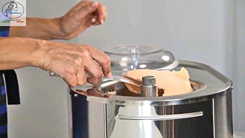 Lello 4080 Musso Lussino 1.5-Quart Ice Cream Maker, Stainless - 110/120V 60 HZ