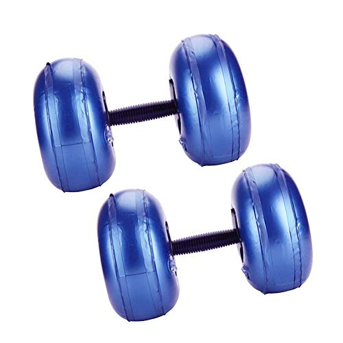 Water-Filled Adjustable Training Dumbbell Equipment with Non Slip Grip Arm Muscle Fitness Dumbbell for Women