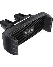 Blukar Soporte Móvil Coche, Soporte para Teléfono Rejillas del Aire 360 ° Rotación Apoyo para Phone XS MAX XR X, 8, 7, 6S, Galaxy S8, S7 y Otros Teléfonos Inteligentes Android