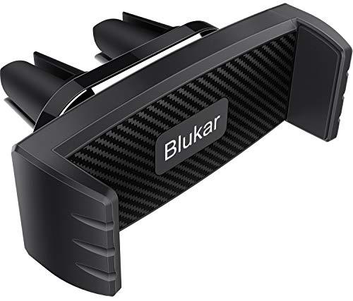 Blukar Supporto Cellulare Auto, Universale Supporto Telefono, Porta Cellulare Auto, 360 ° di Rotazione Supporto Auto Smartphone