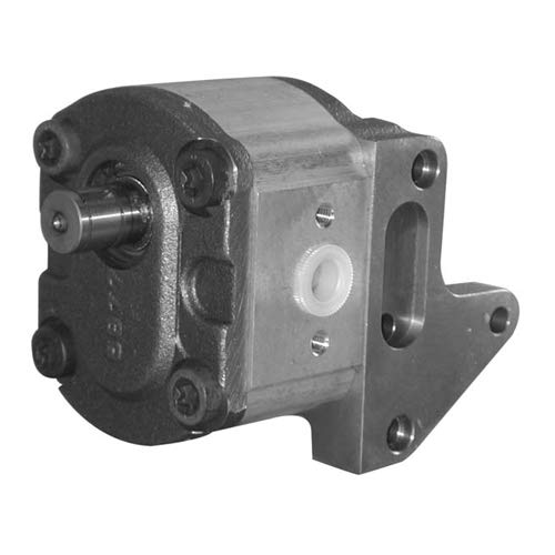 Hydraulische pomp PTO voor Fiat, 17 mm / 17 mm as Ø, 76 mm afstand bevestiging.