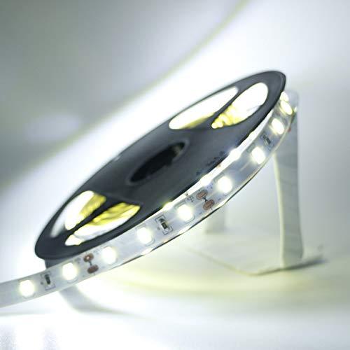 QHY 1/2/3/4 / 5M IP65 Resistente al agua/Sin tira de luz LED 5630 SMD DC12V 60Leds / M 5730 Bar Luz flexible Más brillante que 3528 5050 Cinta LED No impermeable IP20 Blanco