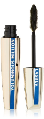 Volume Million Lashes Waterproof by L'Oreal Paris Blackest Black N630 by Voluminous