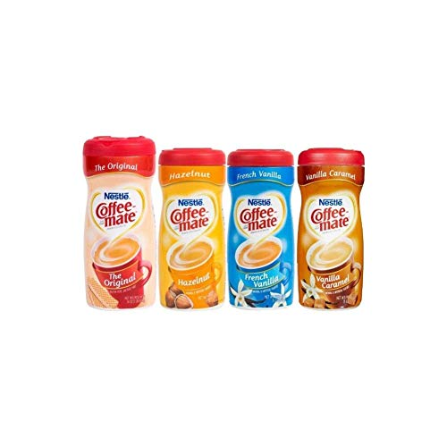 Coffee Mate Powdered Creamer - Variety 4 Pack