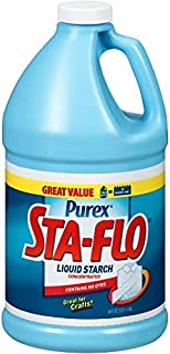 Purex Sta-Flo Concentrated Liquid Starch, 64 Ounces - 2 Pack