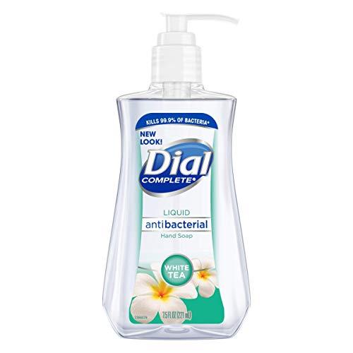 Dial Antibacterial Liquid Hand Soap, White Tea, 7.5 Ounce