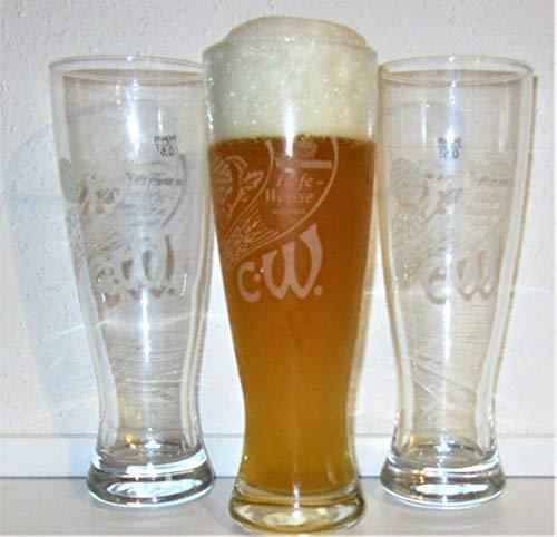Wittmann Biergläser/Weißbierglas/Weißbiergläser Hefeweisse/Bierglas/Biergläser