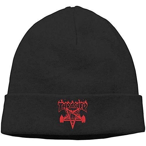 Sweet-Heart Thrasher Skull Hats Gorro De Punto Gorro Negro