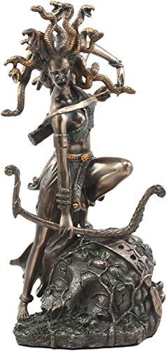 Medusa Greek Statue Figurine Mythology Gorgon