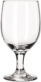 Libbey Embassy Footed Drink Glasses, Goblet, 11.5oz, 6 1/8