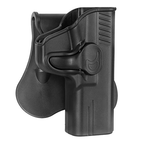 MP 9mm Holster Fit 4.25' Barrel Smith & Wesson M&P 9mm/40, S&W M&P 40/9mm M2.0 Full-Size(Not Shield), OWB Paddle Holster for S&W SD9 VE/SD40 VE, Outside Waistband Tactical Gun Holsters - Right Handed