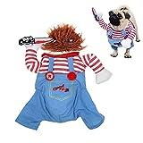 Disfraces de Halloween para perros, fiestas de Navidad, juegos de rol, disfraces y disfraces para perros, divertidos disfraces de fiesta para perros.
