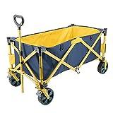 LLSS Carro de jardín Carro de Cuatro Ruedas al Aire Libre Carro de Camping Carro Plegable portátil Carro de Pesca de Compras Carros de fácil Transporte