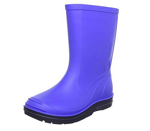 Beck Basic, Botas de Agua Unisex Adulto, Azul (Royalblau 12), 36 EU