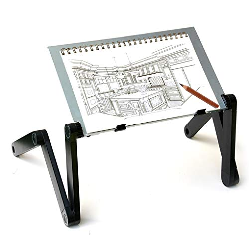 MYDEAL PRODUCTS QuickLIFT Portable Art Easel Adjustable Stand for Drawing & Painting on Tabletop / Bed / Couch / Floor. Use with Sketch Book , Canvas & Other Media