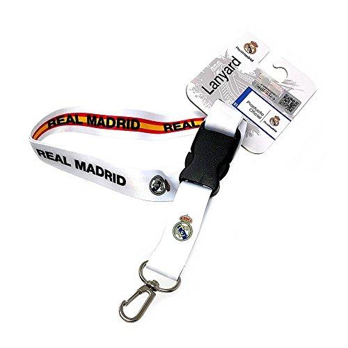 Lanyard Real Madrid escudo reversible bandera España [AB7230]