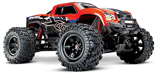 Traxxas 77086-4 – X-Maxx: Brushless Electric Monster Truck – RED