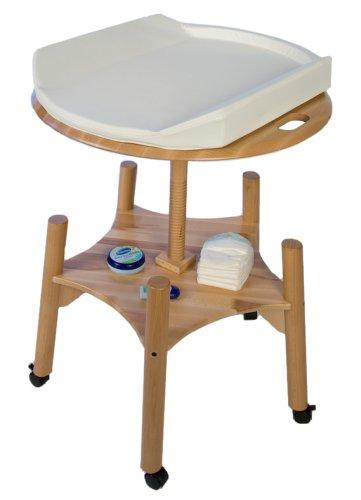 Babybay Table à langer Baby Wok, inclut un matelas à langer