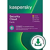 Kaspersky Security Cloud | Family | 20 Dispositivi | 1 Anno | PC/Mac | Codice d'attivazione via email