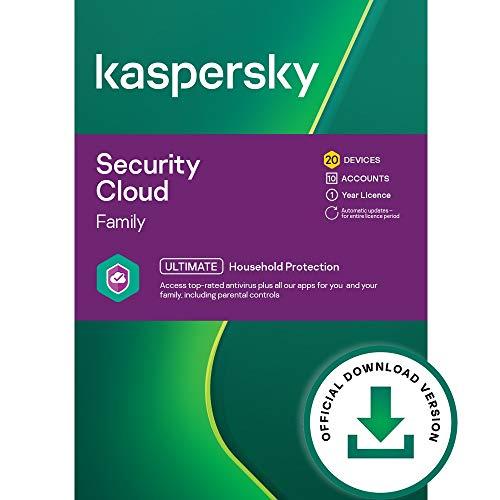 Kaspersky Security Cloud | Family | 20 Dispositivi | 1 Anno | PC Mac | Codice d attivazione via email