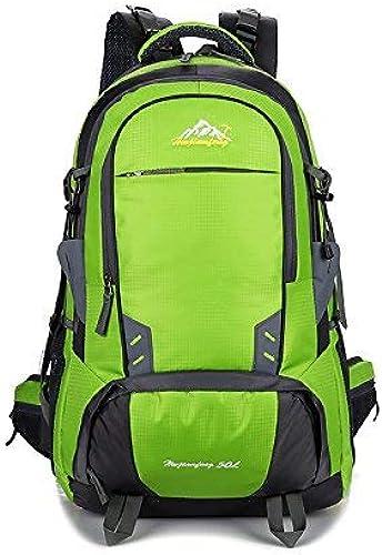 Lounayy Alpinisme Sport Sac à Dos Imperméable Randonnée Mode élégant Extérieur Sport Sac à Dos Durable Sac à Dos Daypack Mode Sac à Dos Daypack (Couleur   Vert, Taille   One Taille)