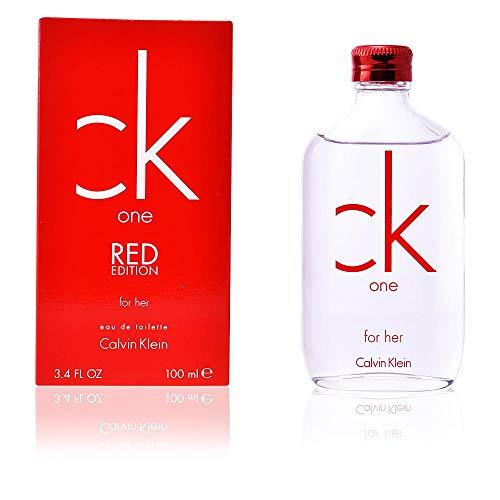 CALVIN KLEIN CK ONE RED EDITION HER - agua de tocador, vaporizador, 100 ml