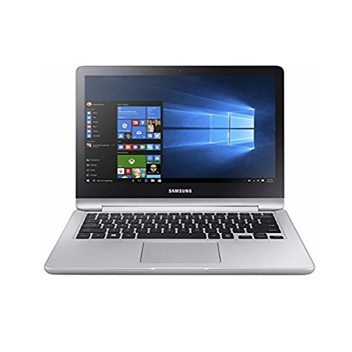 "Samsung Spin 2-in-1 13.3"" Full HD Touchscreen Flagship High Performance Laptop PC | Intel Core i5-7200U | 12GB RAM | 1TB HDD | HDMI | Bluetooth | Windows 10 | Platinum Silver"