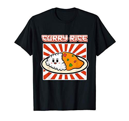 Arroz al curry para hombres y mujeres - Arroz Camiseta