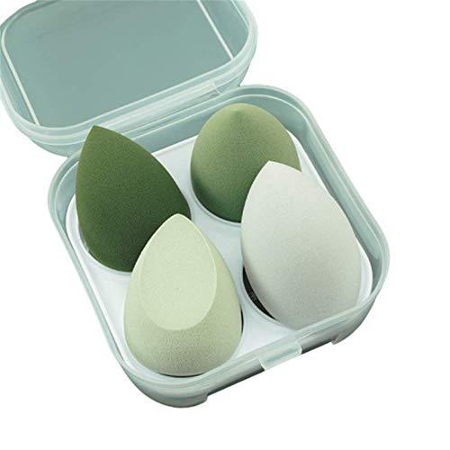 Les œufs de beauté ne mangent pas de poudre Super Soft Boxed Set Puff Gourd Wet and Dry Make-up Éponge Maquillage Boîte de rangement pour œufs