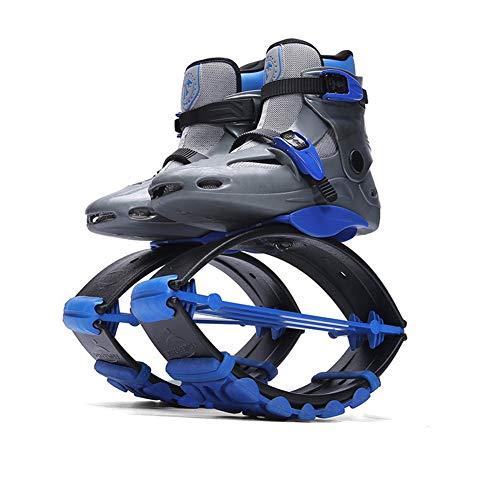JJZXLQ Zapatos de Canguro Botas de Salto Botas antigravedad con zancos Que rebotan Jump Fitness Dance Zapato Yoga Mujeres Fitness Home Gym,B,S