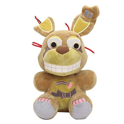 Zoungh FNAF Plüschtiere, Halloween Five Nights Plüschtiere Niedliche lustige Kuscheltier-Plüsch Puppe für Kinder