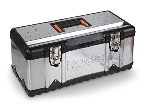 Beta CP17 Cestello Porta Attrezzi in Acciaio Inox e Materiale Plastico con Contenitore Asportabile, Vuoto