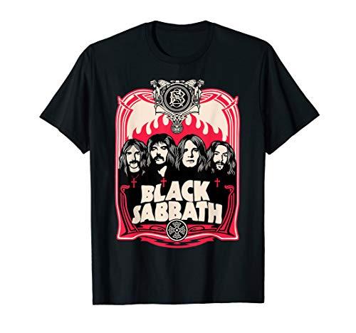 Black Sabbath Group Crest T-Shirt T-Shirt