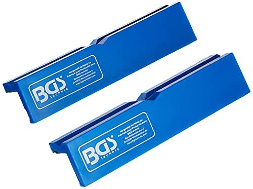 BGS 3046 | Schraubstock-Schutzbacken | 2-tlg. | Kunststoff | Breite 125 mm | mit Magnet | Schonbacken