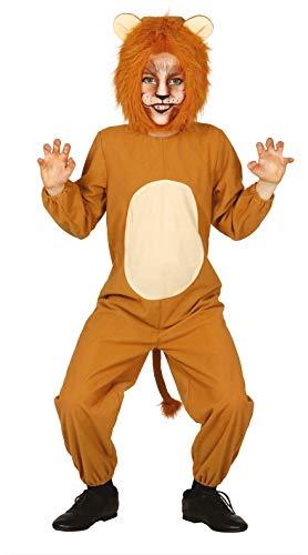 FIESTAS GUIRCA Disfraz león leoncito Infantil Talla 5-6 años