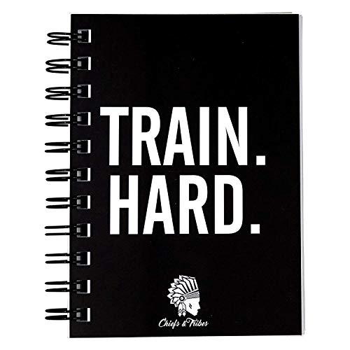 Chiefs & Tribes® Trainingstagebuch für Krafttraining, Fitness Studio, Bodybuilding & Cardio I 200 Seiten I Robust & praktisch für das Gym I DIN A6