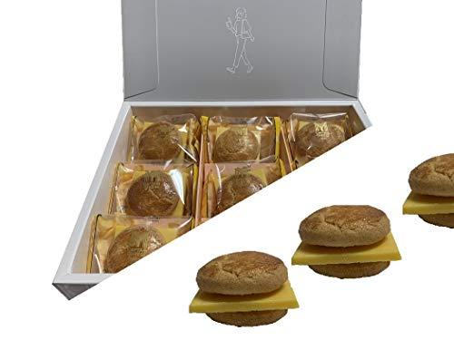 マイキャプテンチーズチョコレートバーガー(6個入り)国産もち米あられ1個セット