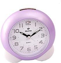 ساعة منبه من دوجانا - بنفسجي  و ابيض  -DA103