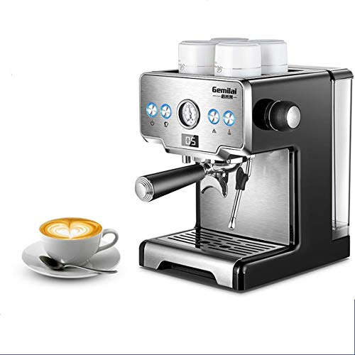 Purchase Leaysoo Household Italian Semi-Automatic Coffee Machine Pumping Steam Light Gray