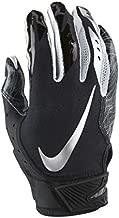 Men's Nike Vapor Jet 5.0 Football Gloves Black/Chrome Size Medium
