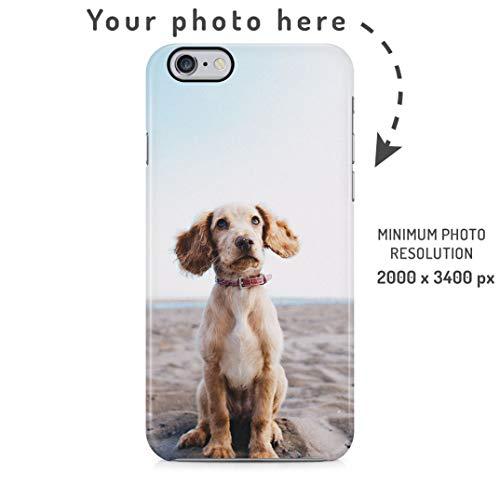 Custodia Cellulare con Foto Personalizzata, Crea la Tua Immagine, Crea la Tua Stampa, Personalized Customised Phone Case Custodia Protettiva in Plastica Rigida Cover per iPhone 6 / iPhone 6s