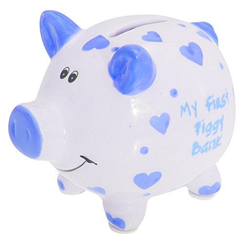 Lesser & Pavey Jungen/Mädchen Sparschwein My First Piggy Bank (Einheitsgröße) (Blau)